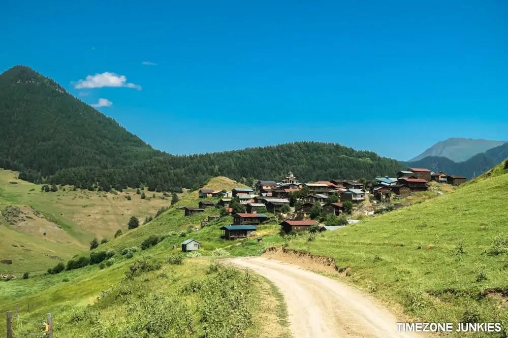 remote villages tusheti