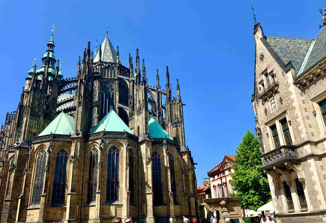 Prague sightseeing tours of Prague castle