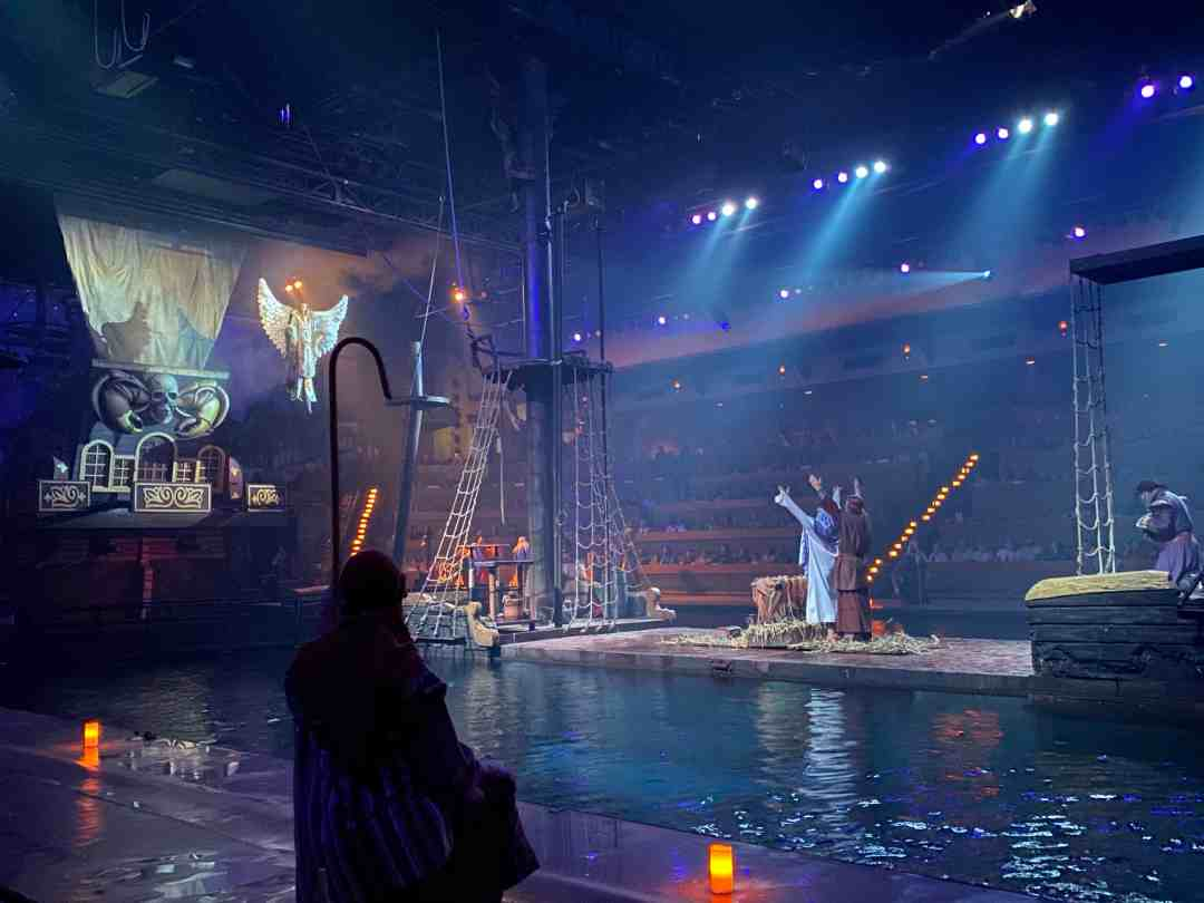 Christmas at Pirates Voyage Myrtle Beach