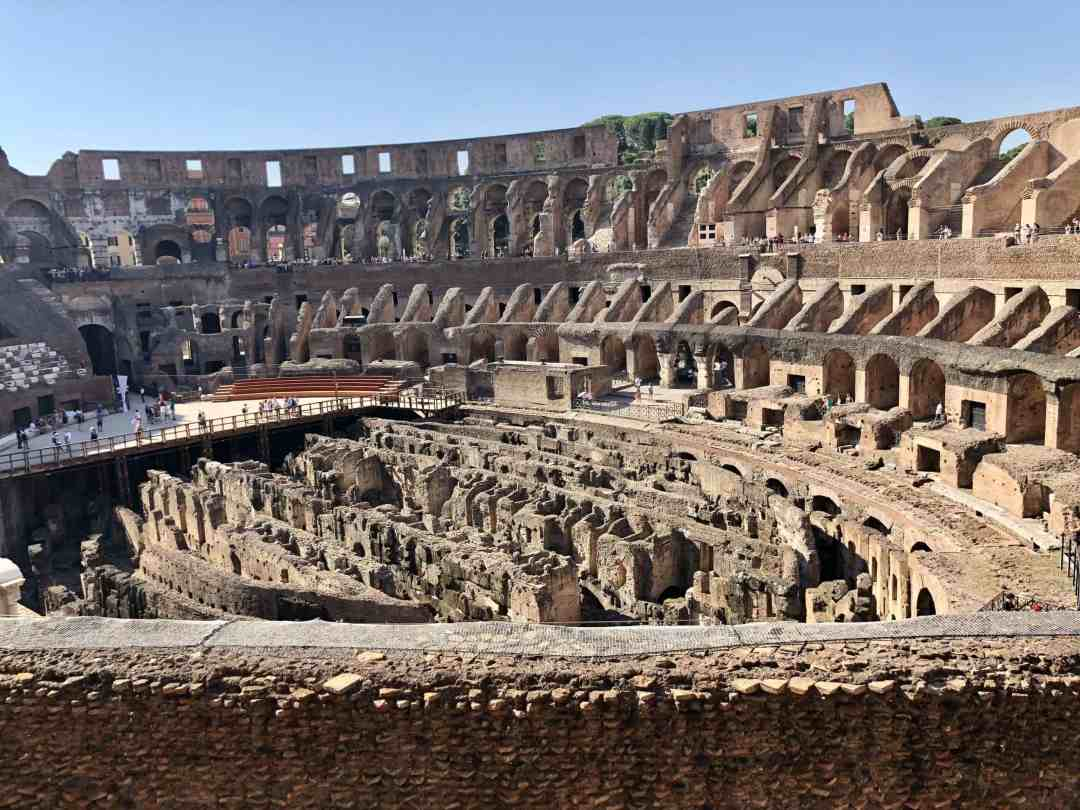 Inside the Rome Colosseum - Top Rome tours