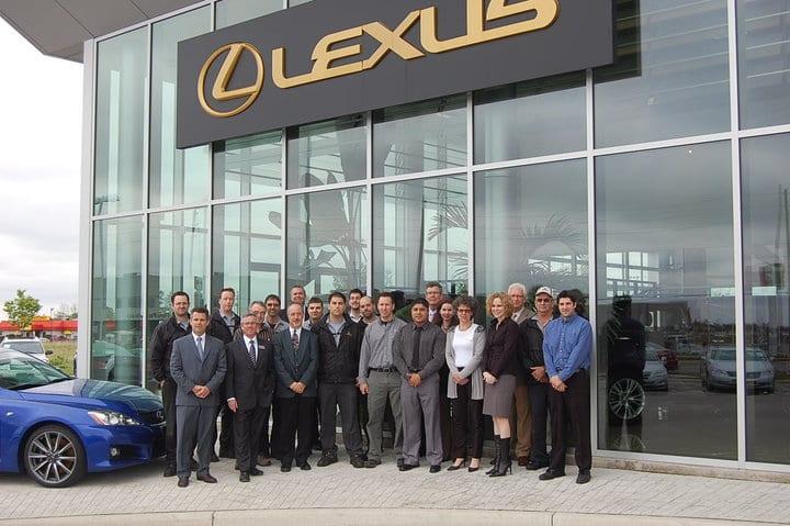 Lexus of London Team