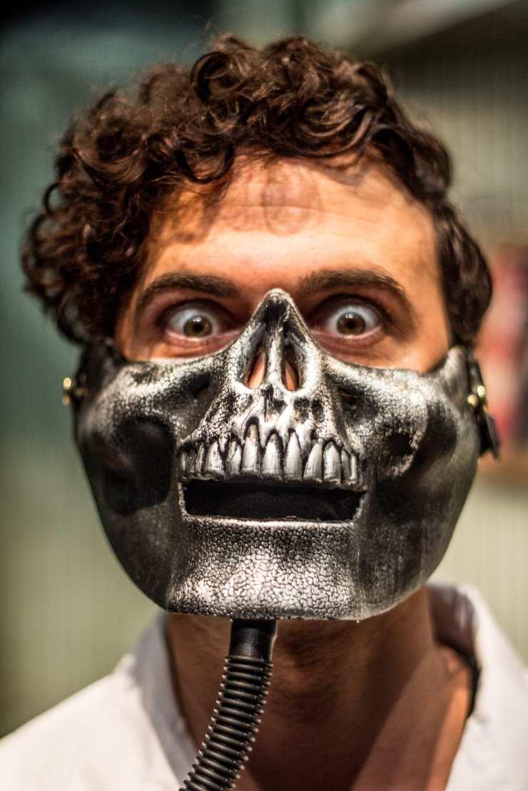 Luca Monti as Orin Scrivello little shop of horrors