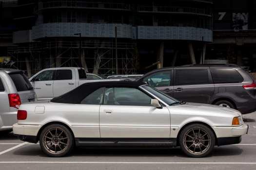 Audi 90 Convertible in Vancouver British Columbia