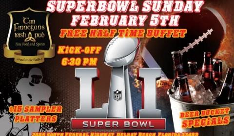 Superbowl Sunday 2017