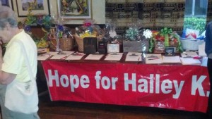 Benefit for Hailey Kennedy