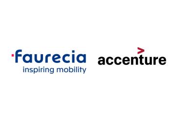 Faurecia Accenture voiture autonome technologie SAP IT BI CRM CES LAS VEGAS