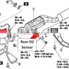 Lexus 02 Sensor Location Diagram How To Draw Architecture For Project 89467 22040 New Oxygen Air Fuel Ratio Toyota Reiz