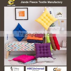 Wholesale Chair Cushions Wingback New Zealand Special Offer Pure Color Hair Office More Warm Students Eat Cushion Pad Manufacturers