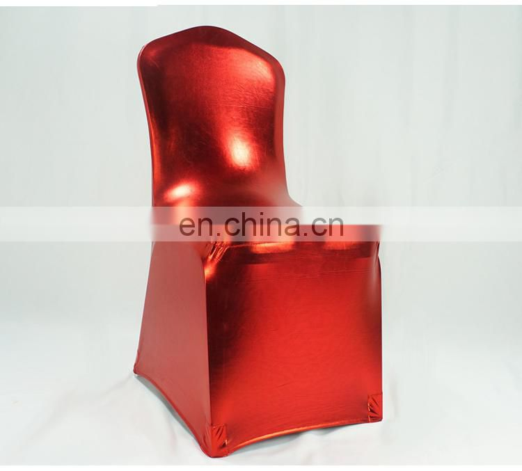black glitter chair covers ski lift for sale metallic coating cover spandex of