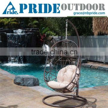 adult egg chair rocking wood curved design single cane patio outdoor balcony wicker bedroom rattan hanging swing of from china suppliers 104047333