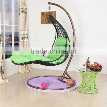 indoor hanging egg chair with stand hyperextension vs roman rattan swing