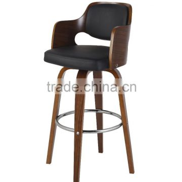 high chair wooden legs best office for back pain design furniture bar stool bent plywood stools