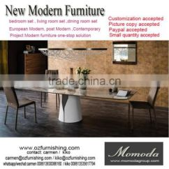 Custom Made Living Room Furniture Single Chairs For Momoda Luxury Italy Modern 1pc 8 12 Marble Top Dining Table Dubai Middle East Of Customized