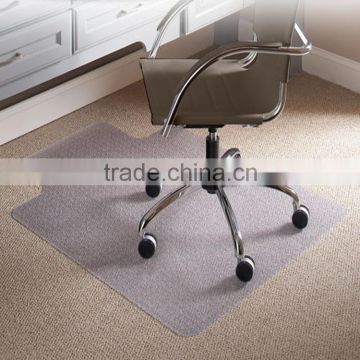 office chair carpet protector baby nursery chairs anti fatigue mats 45 x 53 thickness