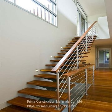 Interior Oak Wood Stairs Stainless Steel Handrails Stair Of   Stainless Steel Handrails Near Me   Glass Railing Systems   Staircase Railing   Stair Railing   Metal   Relaxdays Stainless