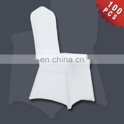 Spandex Chair Covers Cheap Crate And Barrel Beach Chairs White For Wedding Banquet Plain Dyed 100pcs
