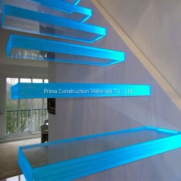 Indoor Frameless Glass Railing Steel Glass Floating Staircase Cost   Glass Stair Treads Cost   Floating Staircase   Handrail   Floating   Steel   Iron Stair