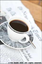 Espresso coffee on New York Times