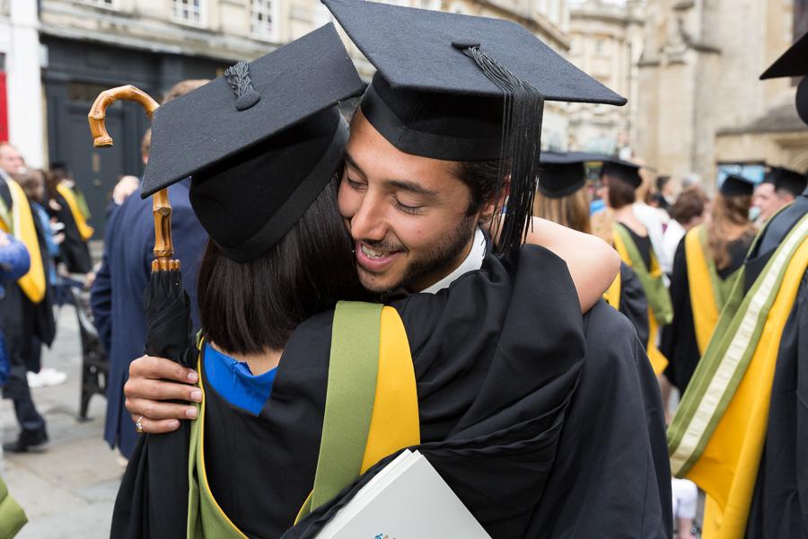 28/06/2016 Image from University of Bath Graduation Ceremony 3, Bath Abbey.
