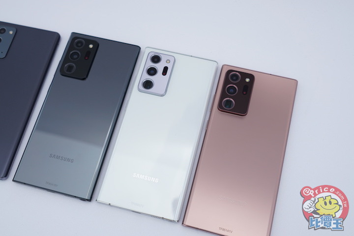 Samsung Galaxy Note 20 臺灣發表會場 手機超光速試玩 (開箱、評價、規格) - 手機品牌新聞 | ePrice 比價王