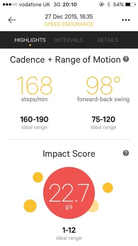 Moov range of motion