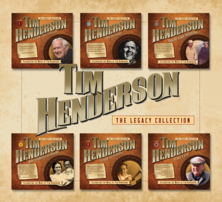 tim henderson legacy collection box set