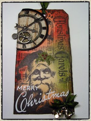 12 tags of christmas  day 12  Tim Holtz