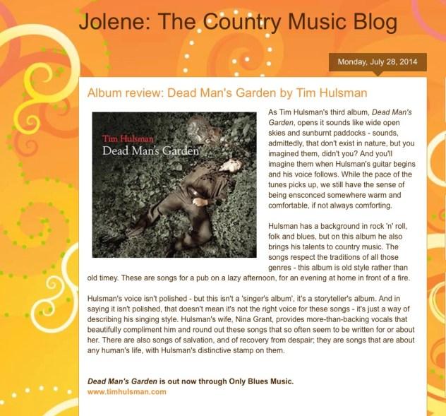 Jolene Album Review