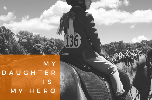 Horses teach children confidence.