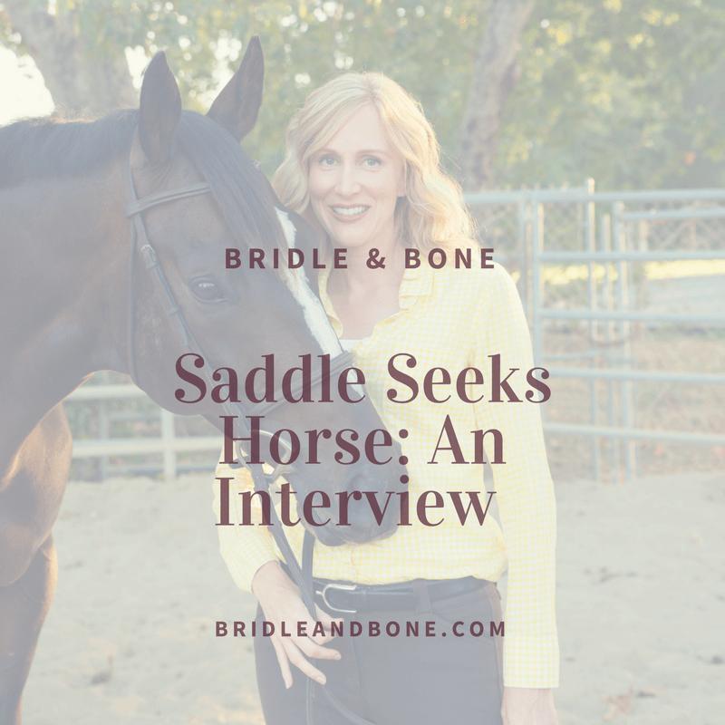 Saddle Seeks Horse Interview