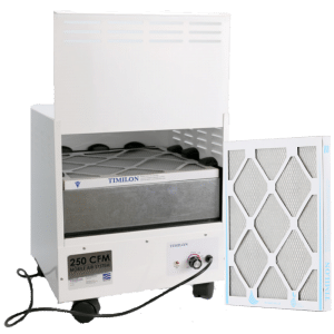 nail salon ventilation system for