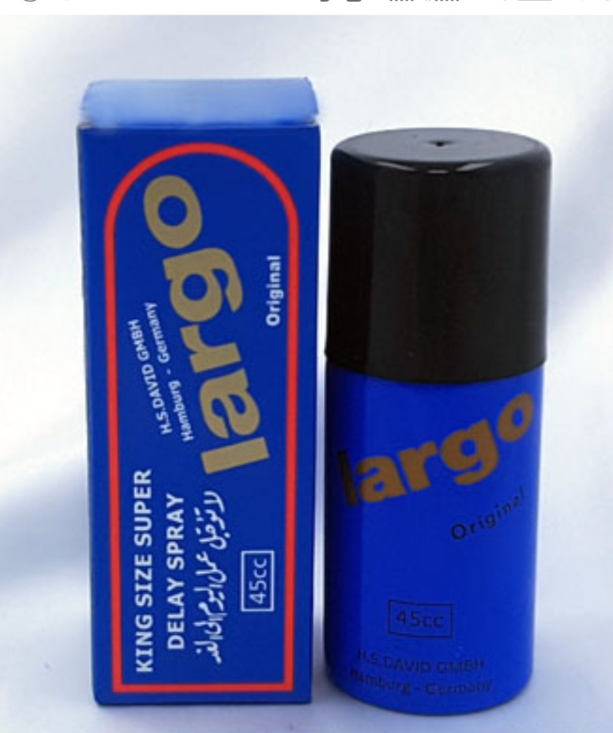Largo Original Long Timing Delay Spray For Men