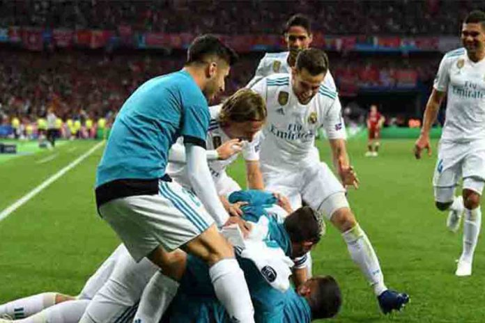 El Real Madrid vence al Liverpool en la final de la Champions