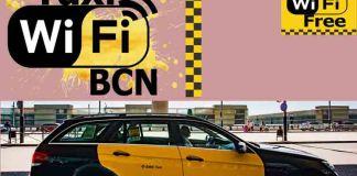Wifi gratuito en los Taxis de Barcelona