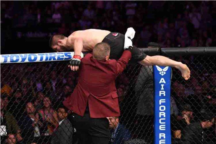 UFC La derrota de McGregor provoca bronca