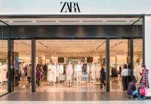 Zara cambia el logo
