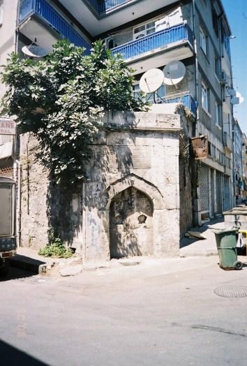 defunct Ottoman water fountain