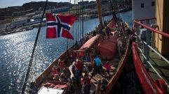 Drakar Harald Harfagre onboard