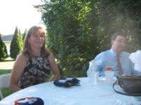my sis in law Missy and my bro Chris