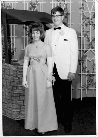 Ray and Suzi Brown, WHS Prom 1966