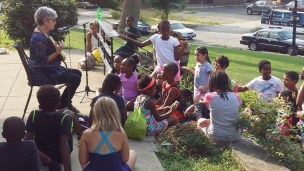 Read-aloud guest Freedom School July 22, 2016, Our Twitchy (8) yes