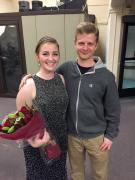 Jason at Anna's recital