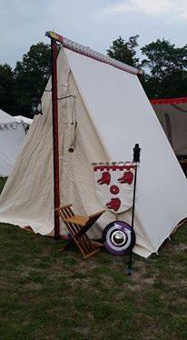 Nancy LaMonica-Barton's Pennsic tent