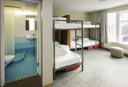 Loft Hostel bedroom