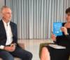 """Tim Jackson und Lili Fuhr discussing """"Wohlstand ohne Wachstum - Das Update"""". Heinrich Böll, Facebook Live Chat, 19 July 2017"""