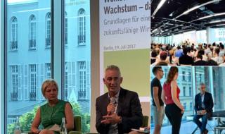 Wohlstand Ohne Wachstum – Das Update | Book presentation, Berlin, 19 July 2017
