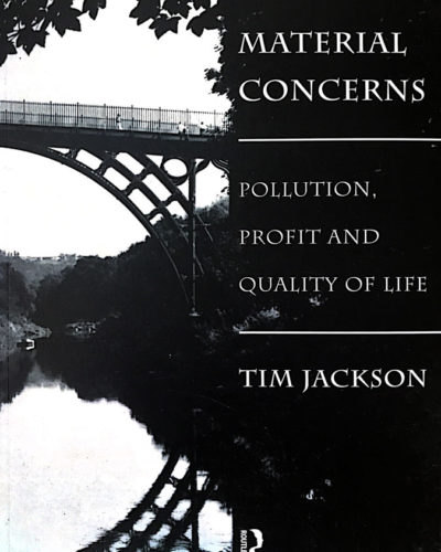 Book Cover | Tim Jackson | Material Concerns