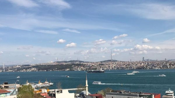 Fantastic Bosphorus view from house