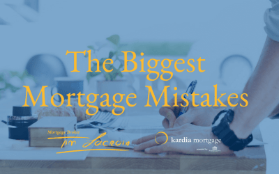 10 Common Mortgage Mistakes You're Making