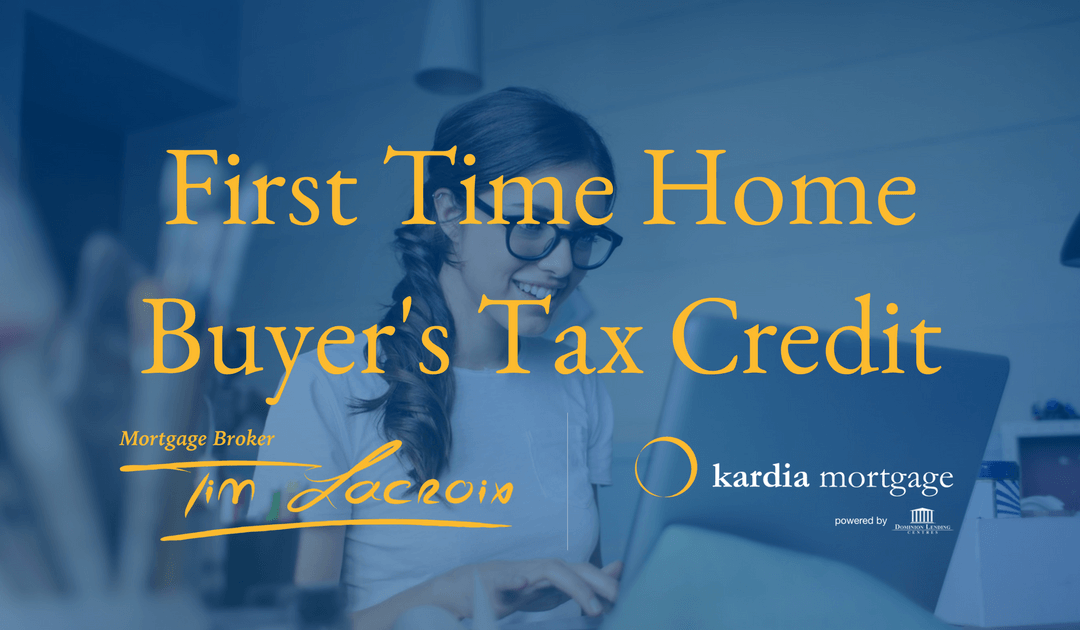First Time Home Buyer's Tax Credit